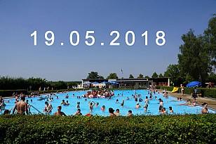 ERÖFFNUNG der Freibadsaison 2018