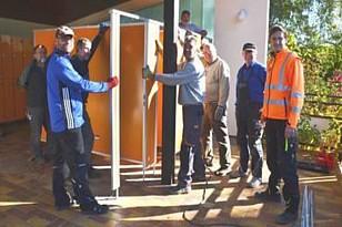 Bericht der SchwäPo: Freiwilliger Großeinsatz fürs Freibad